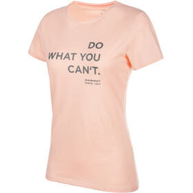 Mammut Seile - Camiseta manga corta Mujer - rosa